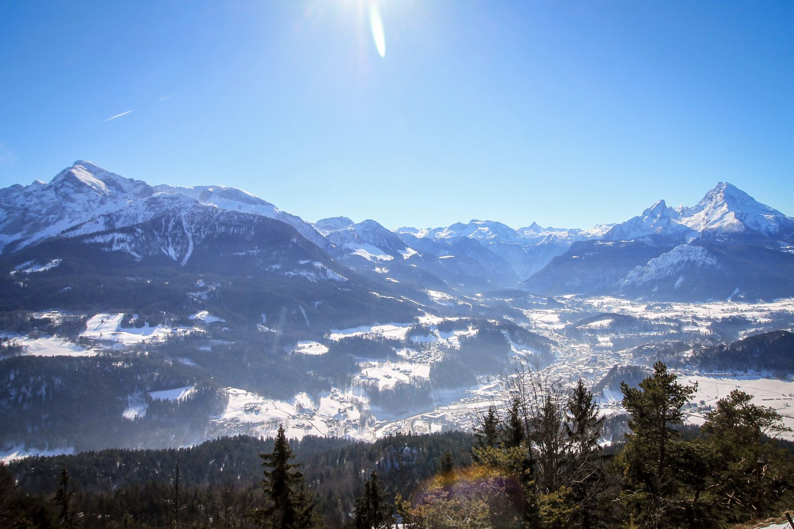 Randonnée en hiver Berchtesgaden