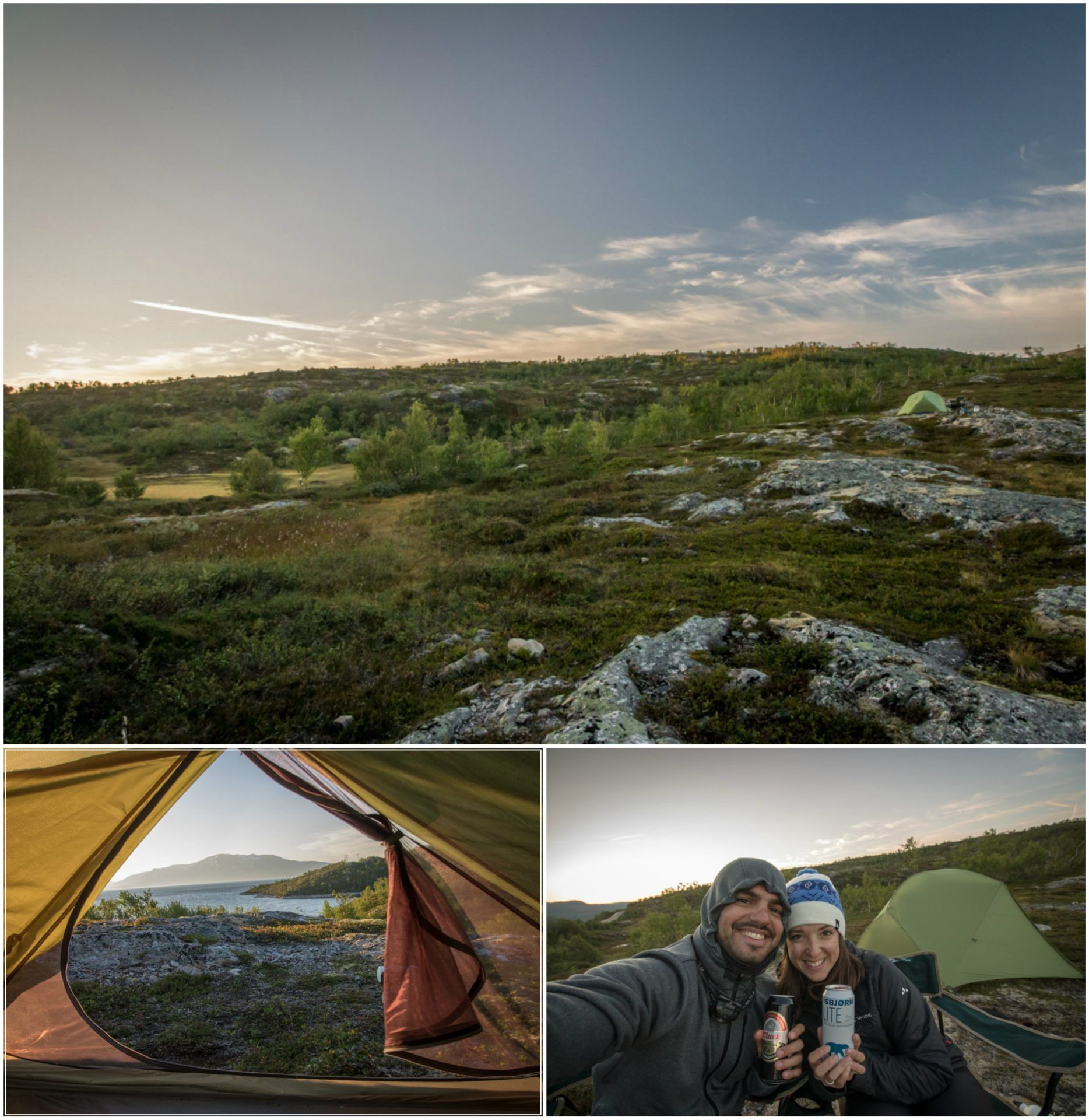 Camping Røssvatnet Norvège