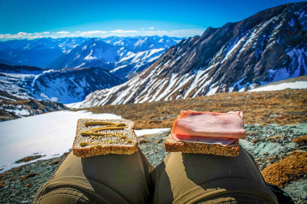 Sandwich en randonnée