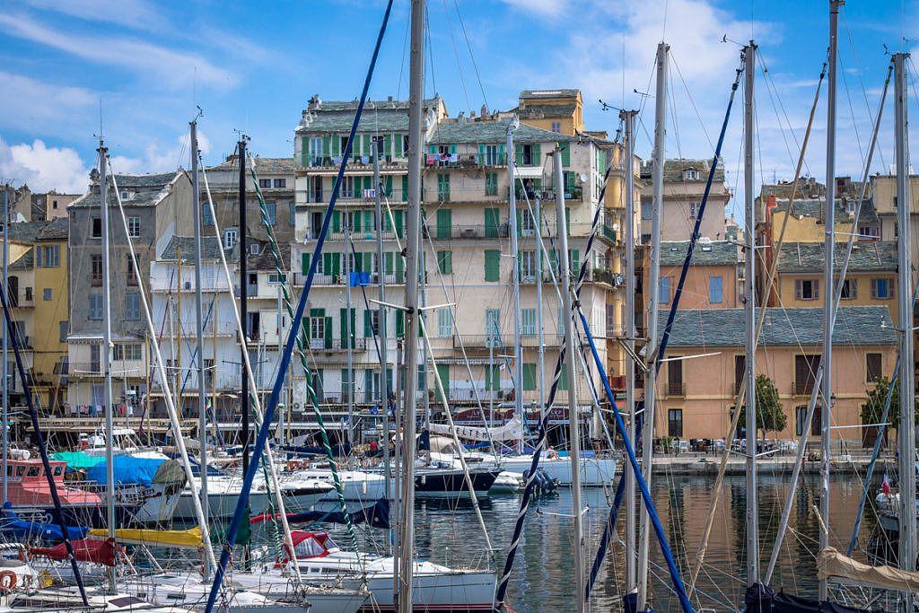 Ville de Bastia en Corse
