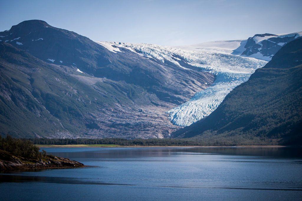 Glacier Svartisen Engabreen