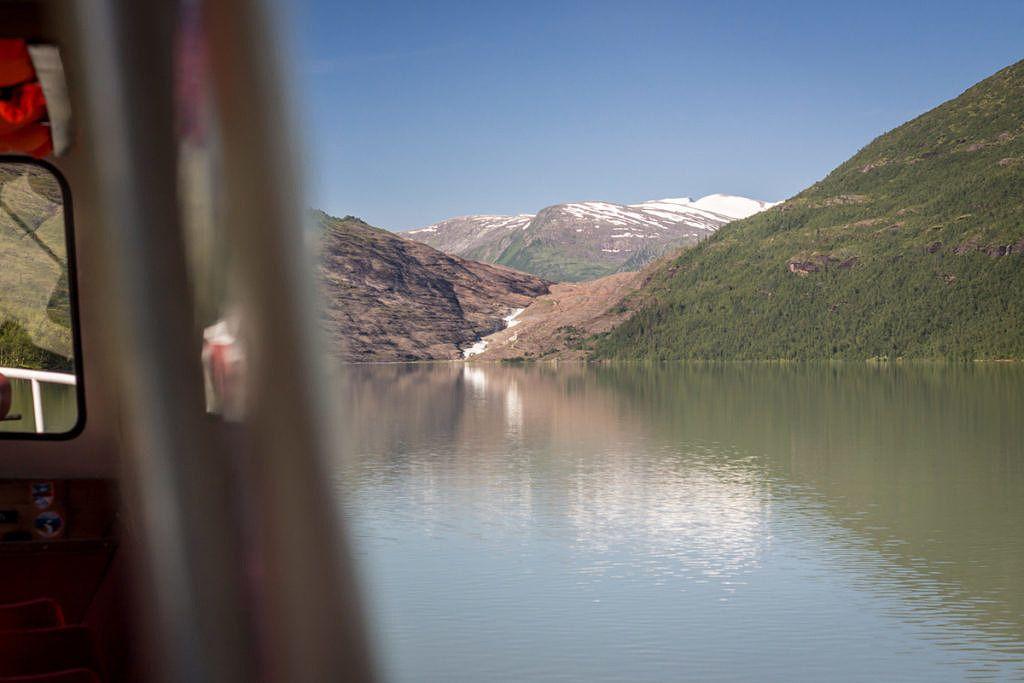 Glacier de Svartisen Norvège