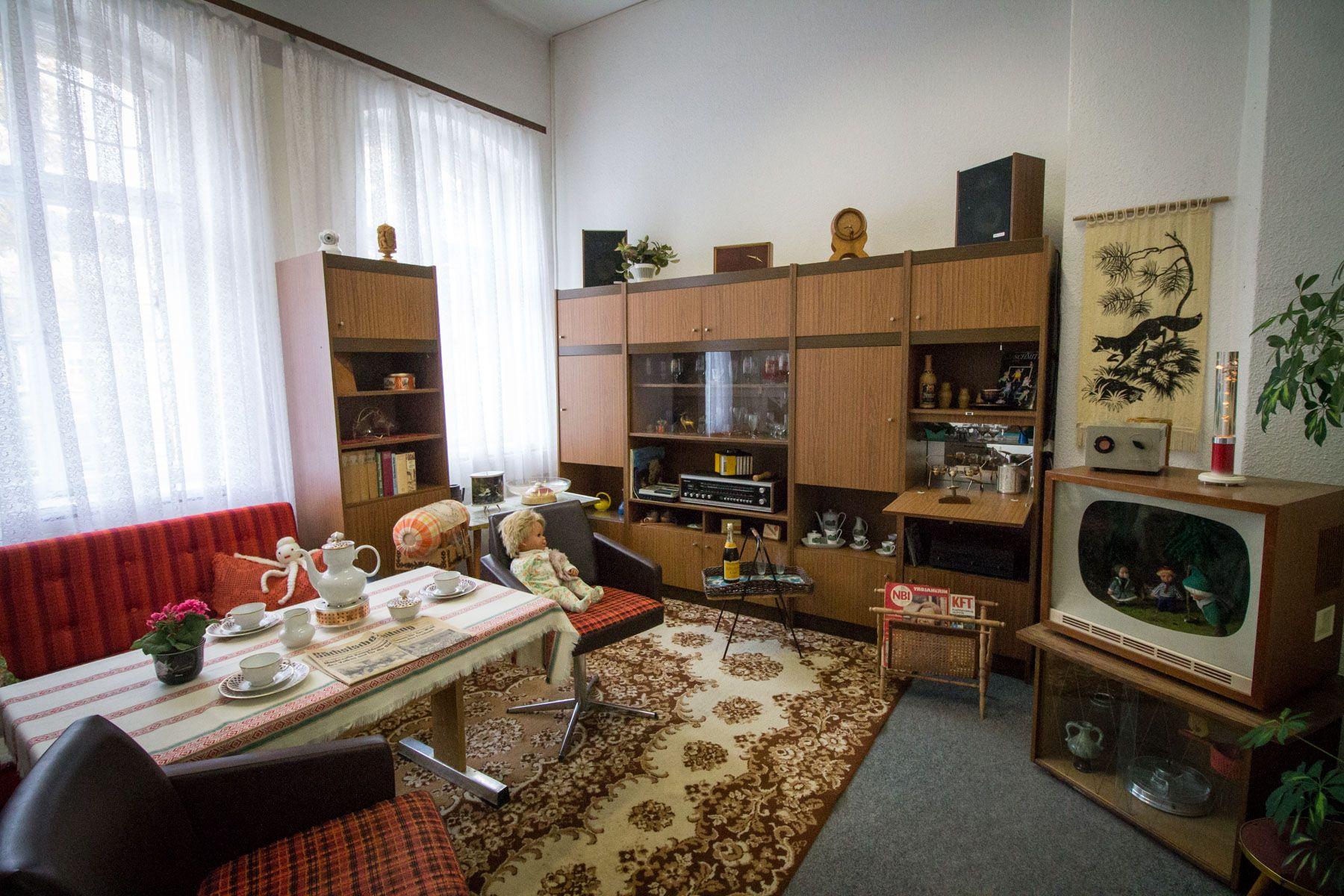 maison au temps de la RDA en Allemagne