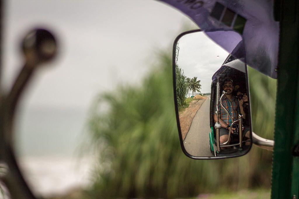 Tuktuk Hikkaduwa Sri Lanka