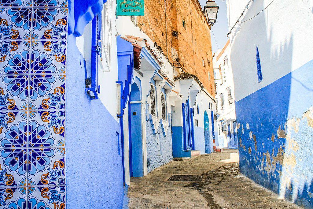 Itinéraire Maroc Medina Chefchaouen