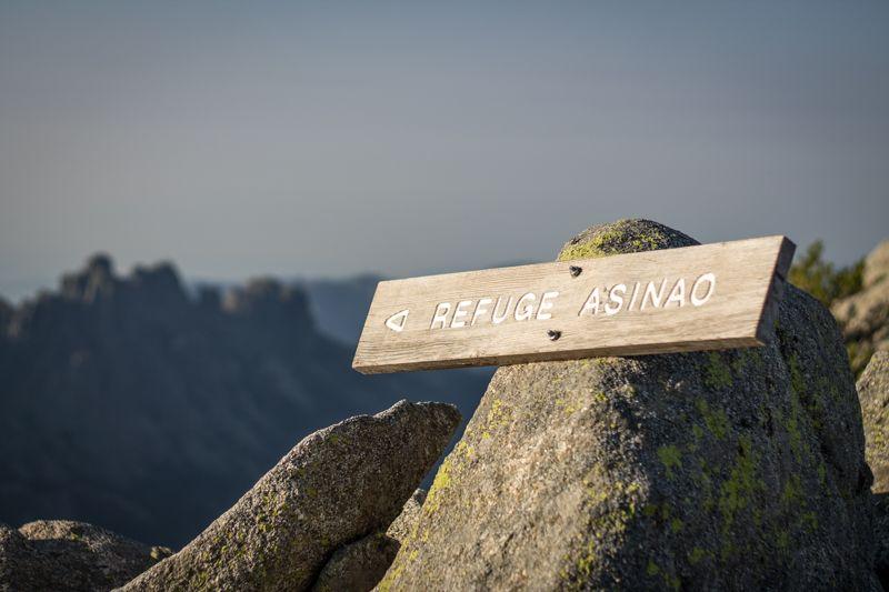 Refuge Asinau sur le sentier GR-20