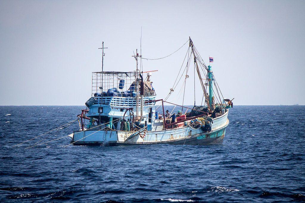 Pêcheurs mer d'Andaman