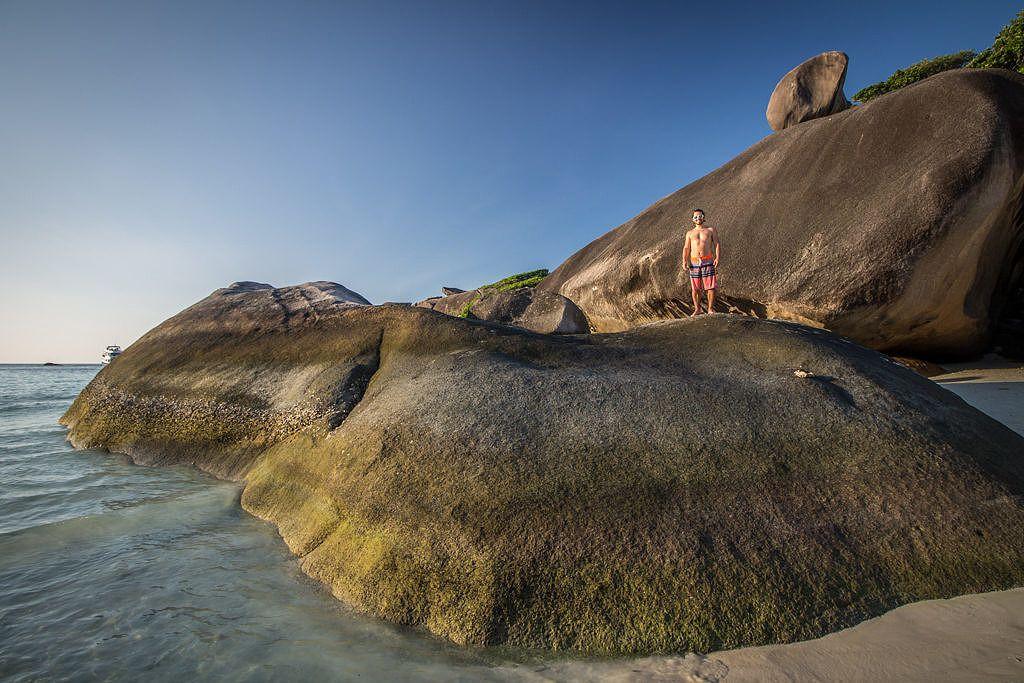 Ao Kuerk Bay en Thaïlande