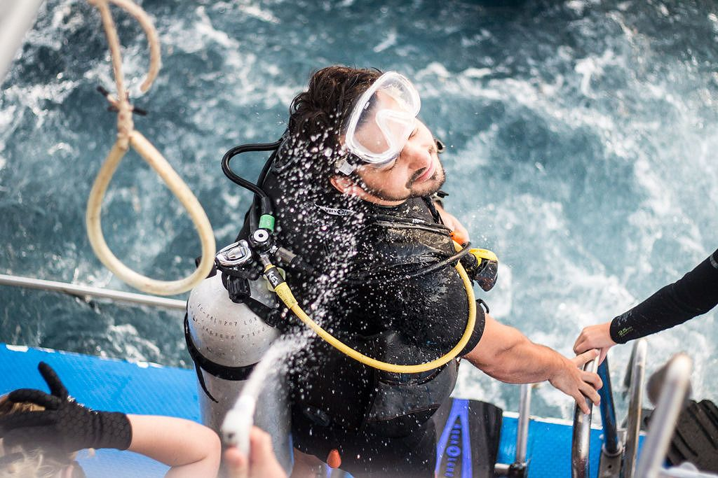 Plongeur en Thaïlande