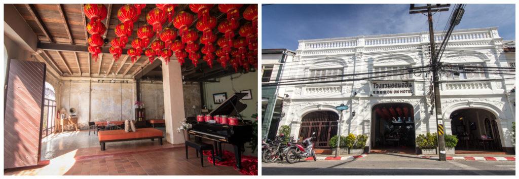 Sur les traces de Leonardo à l'Hotel On On à Phuket Town