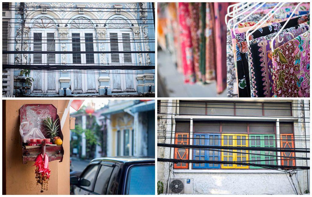 Visiter Phuket Town pour les maisons colorées