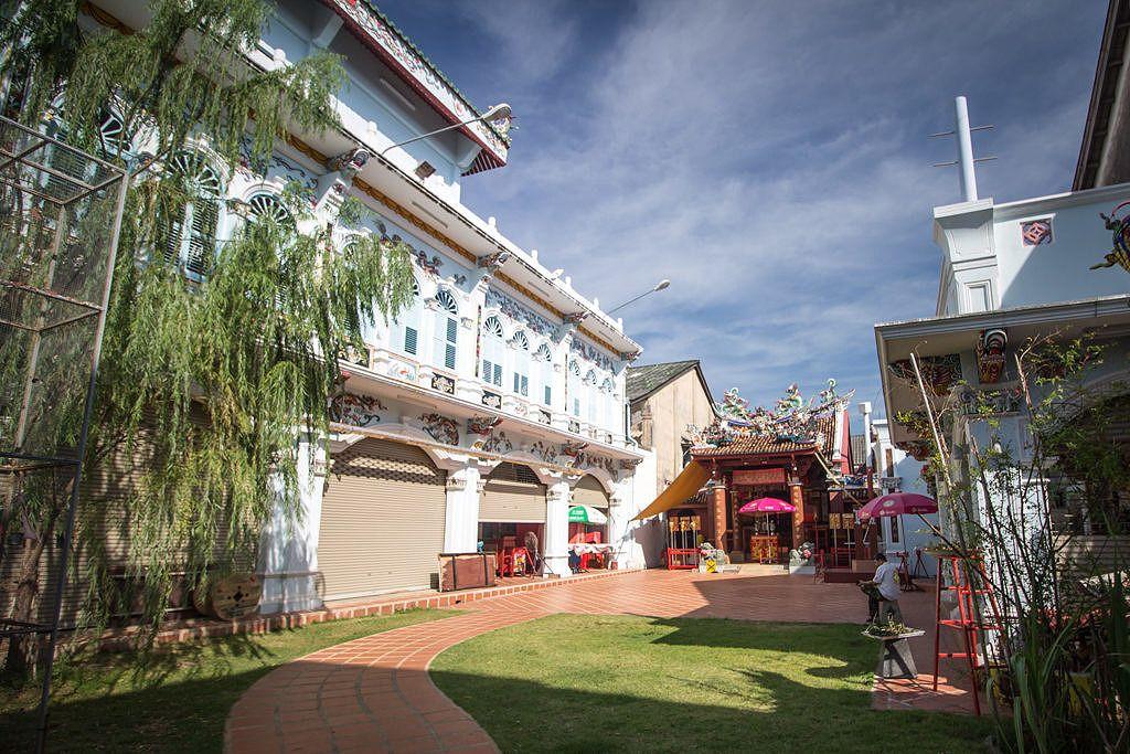 Temple chinois à Phuket town en Thaïlande