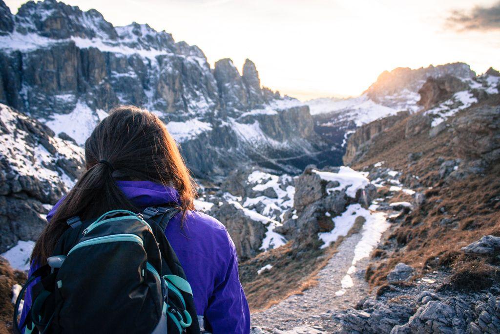 Hiver Dolomites