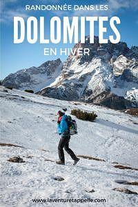 Pinterest Dolomites en Hiver