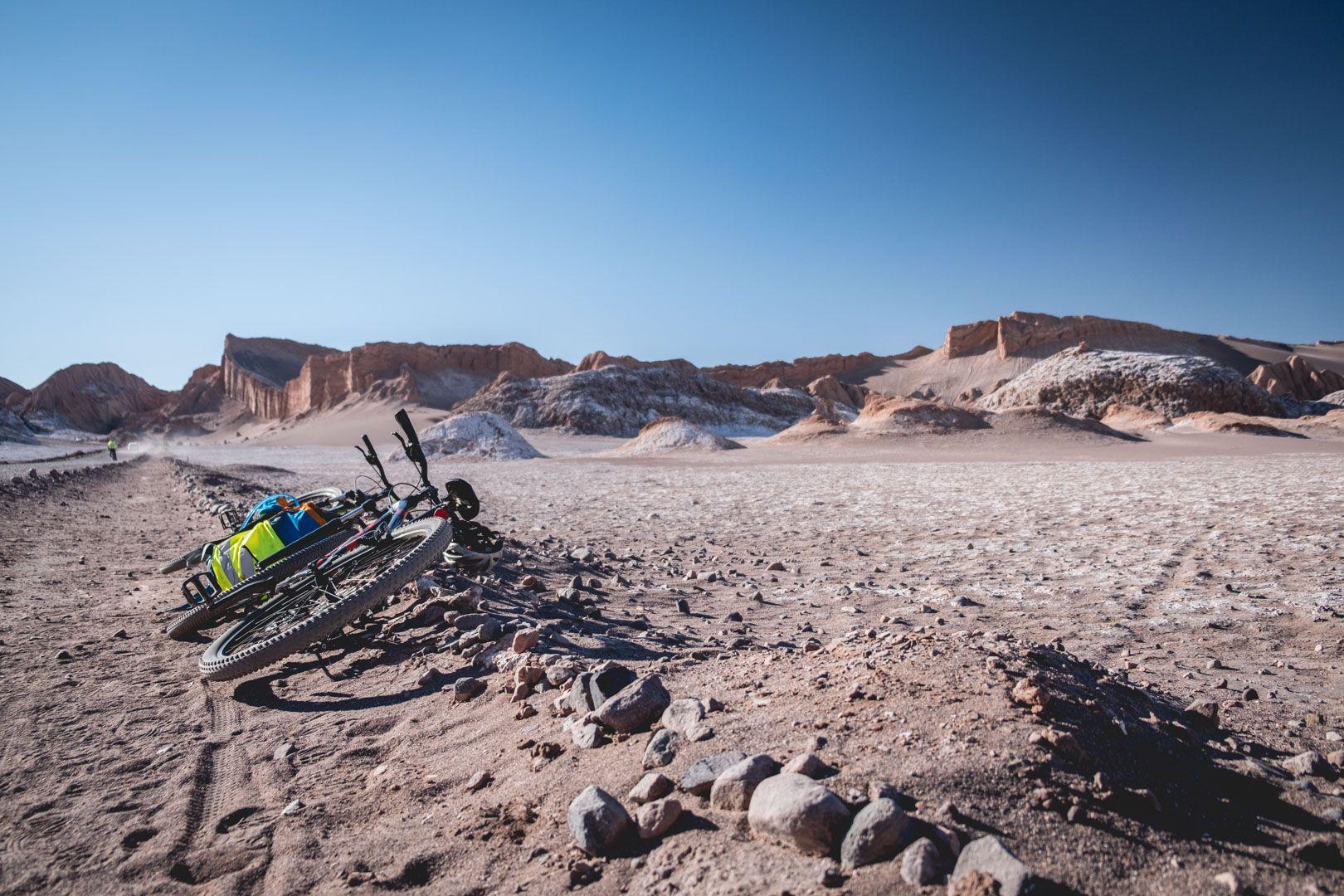 Vallée de la Lune en vélo