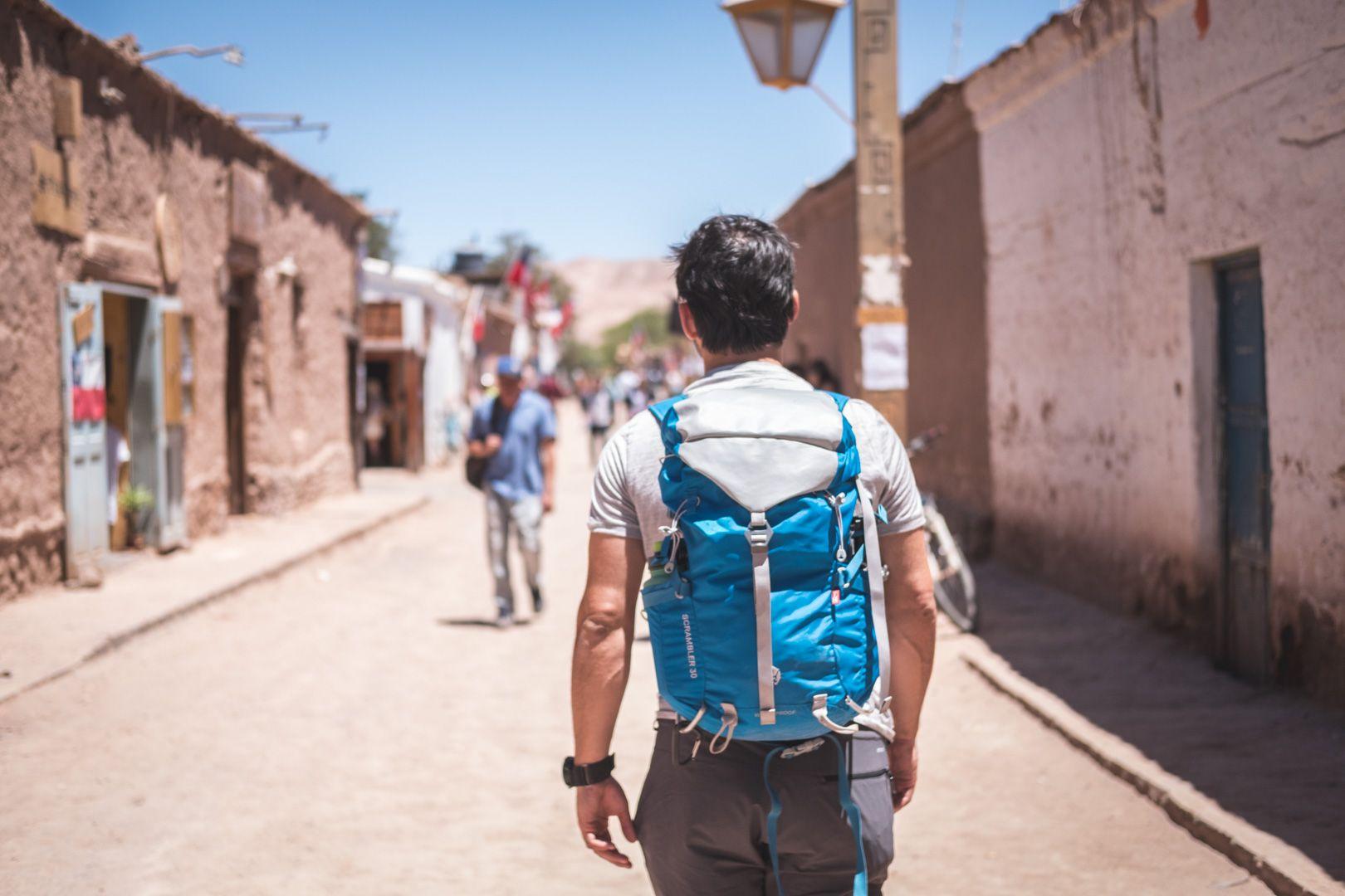 Centre-ville de San Pedro de Atacama