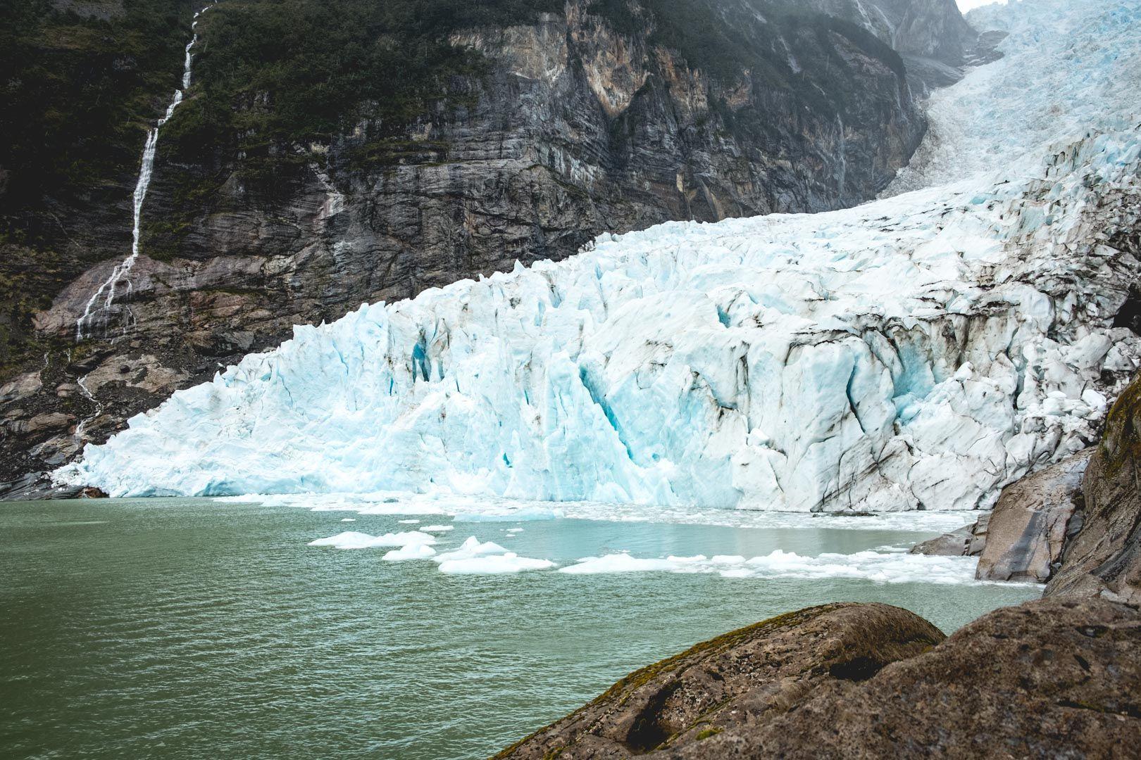 Kayak au Glacier Serrano