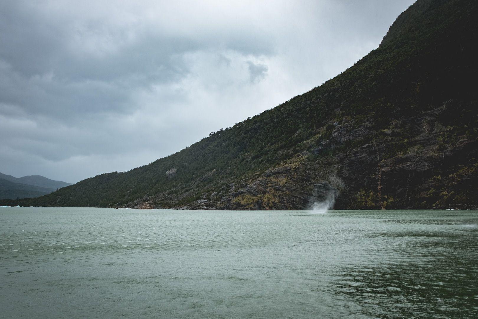 Kayak sur le lac Serrano