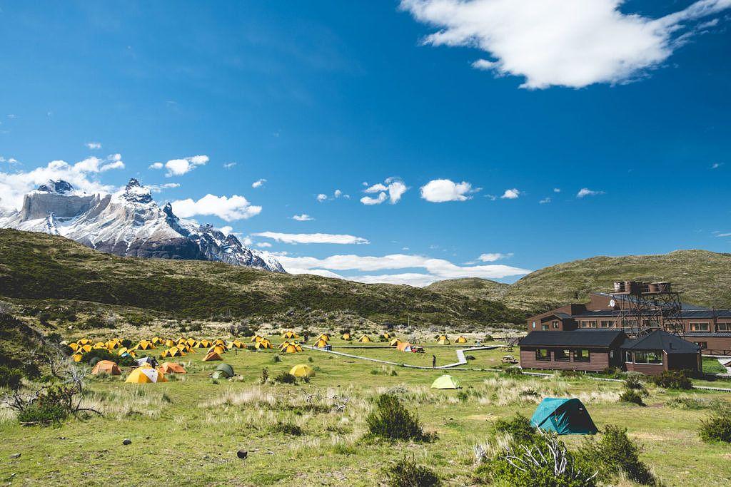 Tente pour un voyage en Patagonie