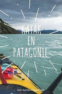Faire du kayak en Patagonie